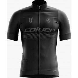 Maillot Ciclismo Coluer Negro