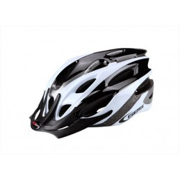 Casco Ges Rocket negro/blanco